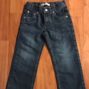 Levi's 505 Regular Toddler Boy Jeans- 5 Reg